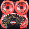 POWELL BOMBER 64mm 85a RED