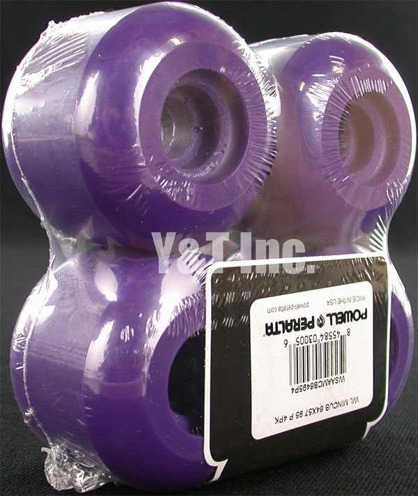 POWELL PERALTA MINI CUBIC 64mm 95a PURPLE 1