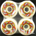 POWELL PERALTA RAT BONES2 60mm 97a WHITE