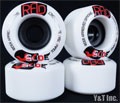RAD GLIDE 70mm 78a White
