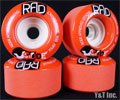RAD GLIDE 70mm 80a Red