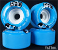 RAD GLIDE 70mm 82a Blue