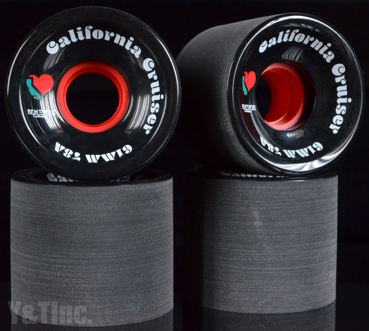 REMEMBER California Cruiser 61mm 78a Black 1