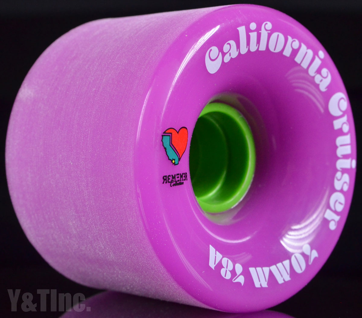 REMEMBER California Cruiser 70mm 78a Pink 2