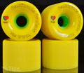 REMEMBER California Cruiser 70mm 78a Yellow