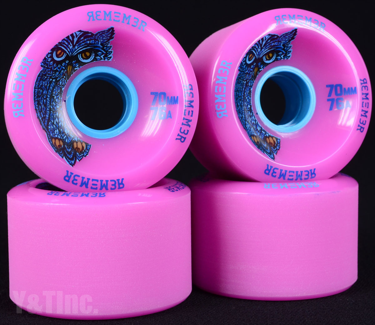 REMEMBER Hoot 70mm 76a Pink 1