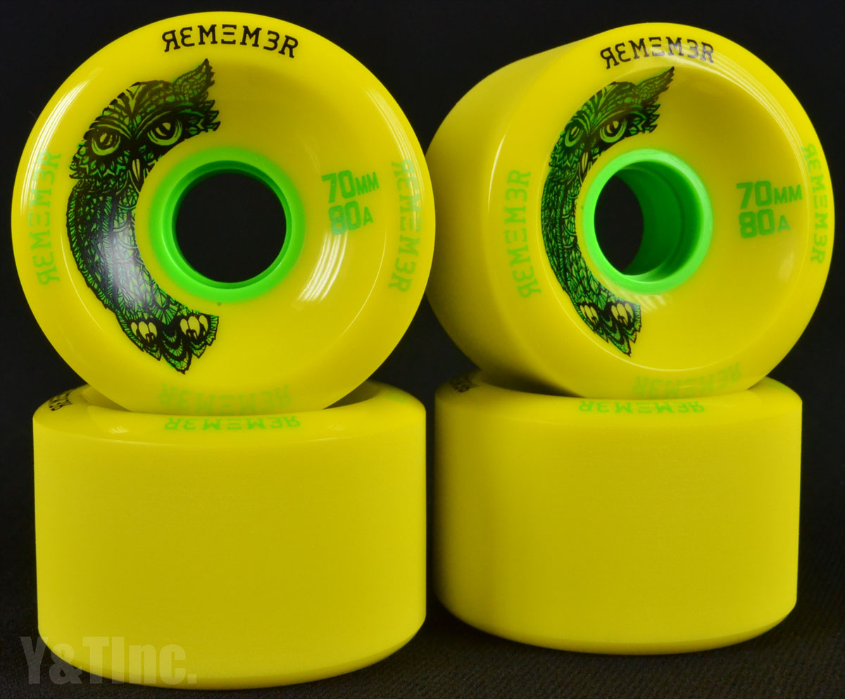REMEMBER Hoot 70mm 80a Yellow 1