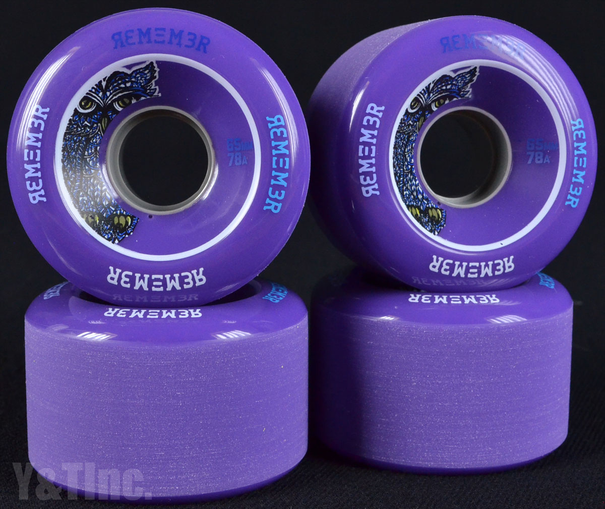 REMEMBER LiL Hoot 65mm 78a Purple 1