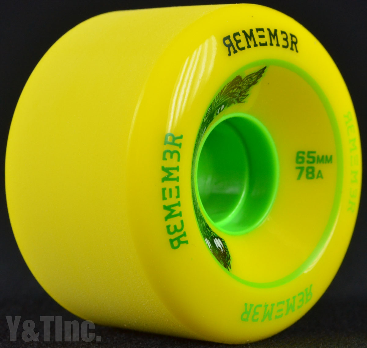 REMEMBER LiL Hoot 65mm 78a Yellow 2