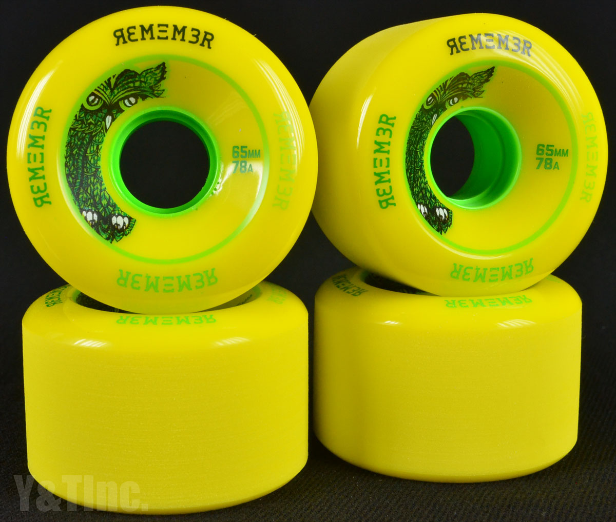REMEMBER LiL Hoot 65mm 78a Yellow 1
