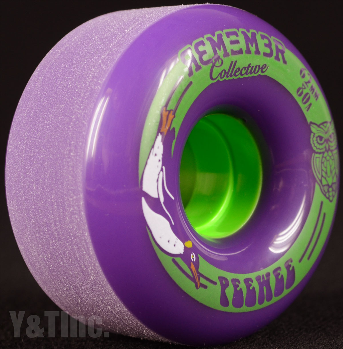REMEMBER PeeWee 62mm 80a Purple 2