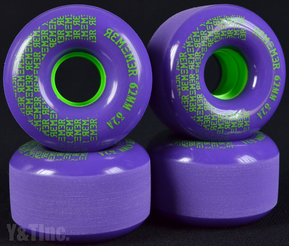 REMEMBER PeeWee 62mm 82a Purple 1