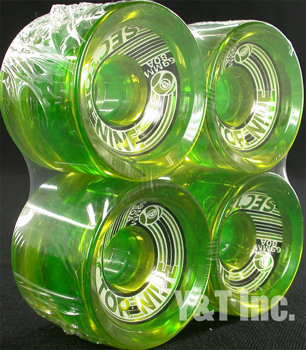 SECTOR9 SLALOM 69mm 80a GREEN 1