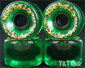 SECTOR9 NINEBALLS 65mm 78a CLEAR GREEN