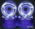 SECTOR9 70mm 78a CLEAR BLUE BLUE CORE