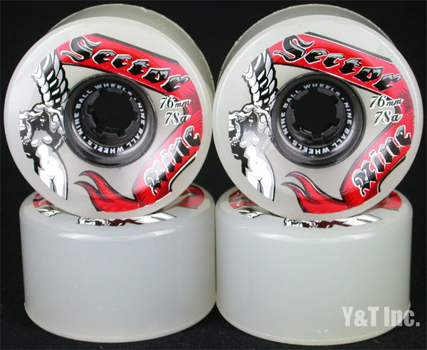 SECTOR9 GODDESS OF SPEED 76mm 78a WHITE RED 1