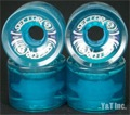SECTOR9 SLALOM 69mm 80a CLEAR BLUE
