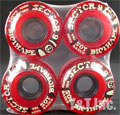 SECTOR9 61mm BIOTHANE SOY 78a RED