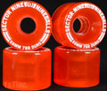 SECTOR9 NINE BALL 58mm 78a Clear Red