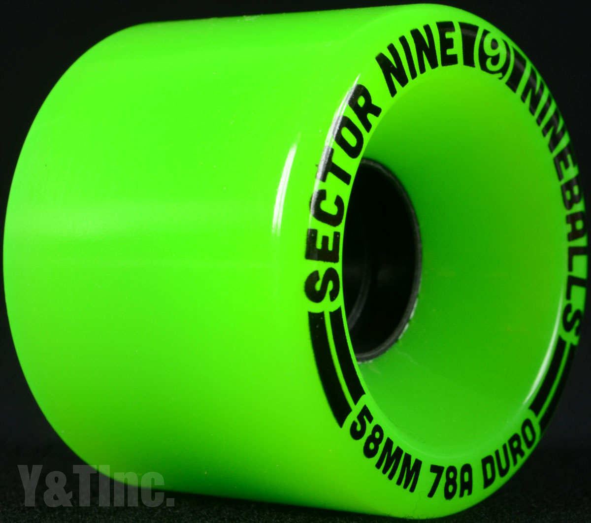 SECTOR9 NINE BALL 58mm 78a Green 2