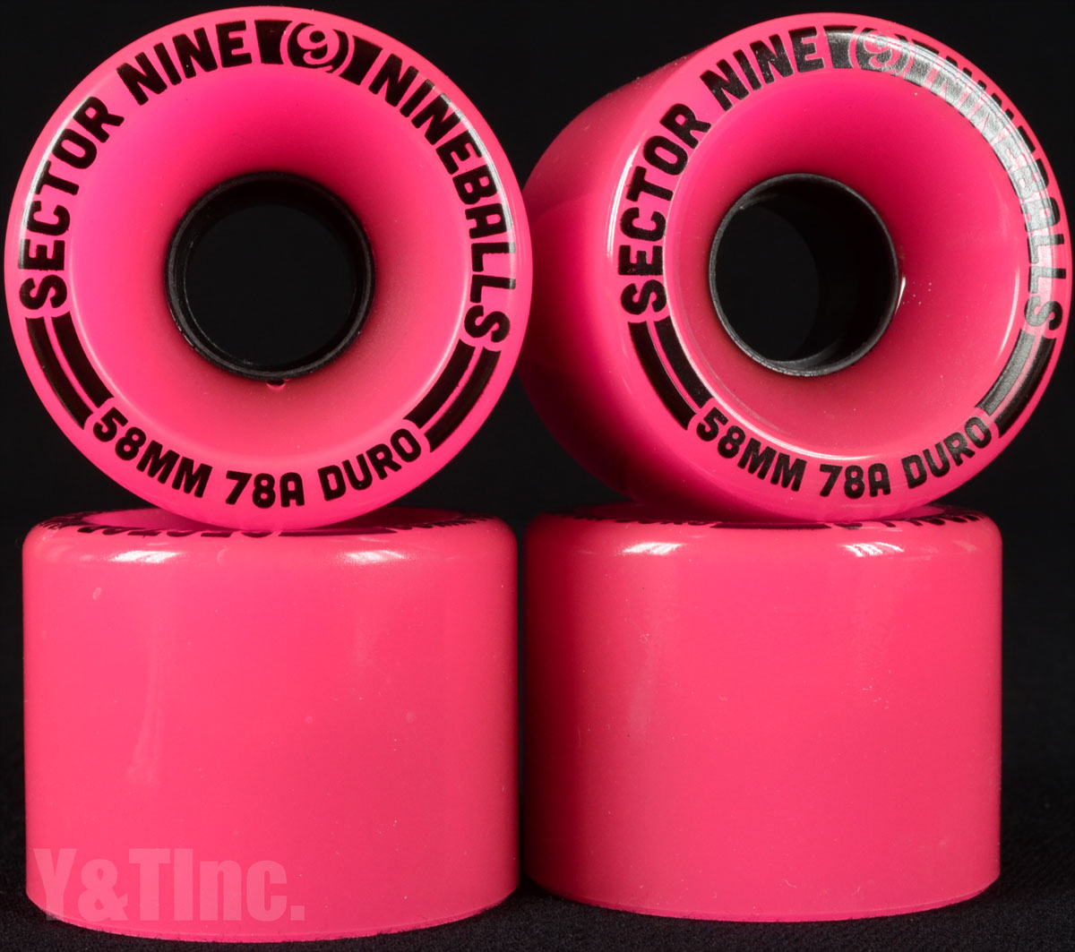 SECTOR9 NINE BALL 58mm 78a Pink 1