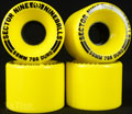 SECTOR9 NINE BALL 58mm 78a Yellow
