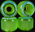 SECTOR9 NINE BALL 61mm 78a Clear Green