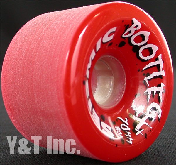 SEISMIC BOOTLEG 70mm 80a RED 1