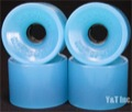 SEISMIC HOT SPOT 69mm 76a CLEAR BLUE