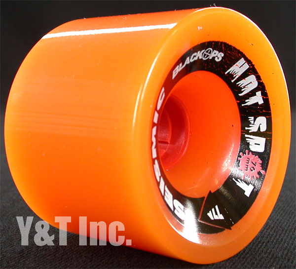 SEISMIC HOTSPOT 76mm 77a ORANGE 1