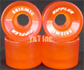 SEISMIC RIPPLER 59mm 82a TRANS ORANGE