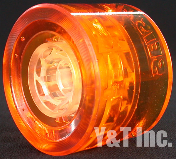 SEISMIC SPEED VENT 77mm 77a CLEAR ORANGE 1