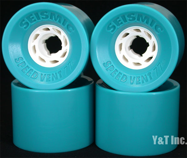 SEISMIC SPEED VENT 77mm 83a SKY BLUE 1