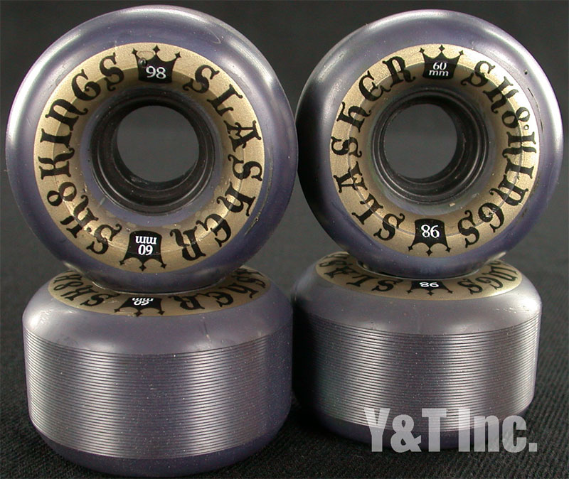 SK8KINGS 60mm 98a SLASHER BK 1