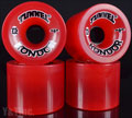 TUNNEL KONDOR 75mm 78a Trans Red