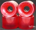 TUNNEL ROCK 63mm 78a CLEAR RED