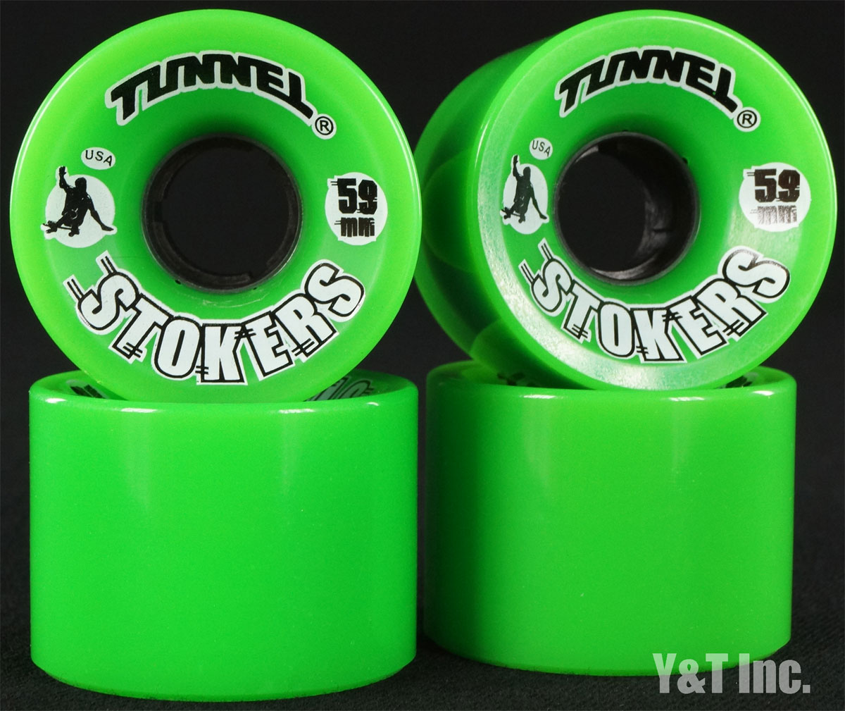 TUNNEL STOKERS 59mm 78a Green 1