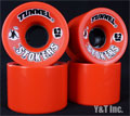 TUNNEL STOKERS 62mm 78a Red