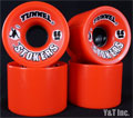 TUNNEL STOKERS 66mm 78a Red
