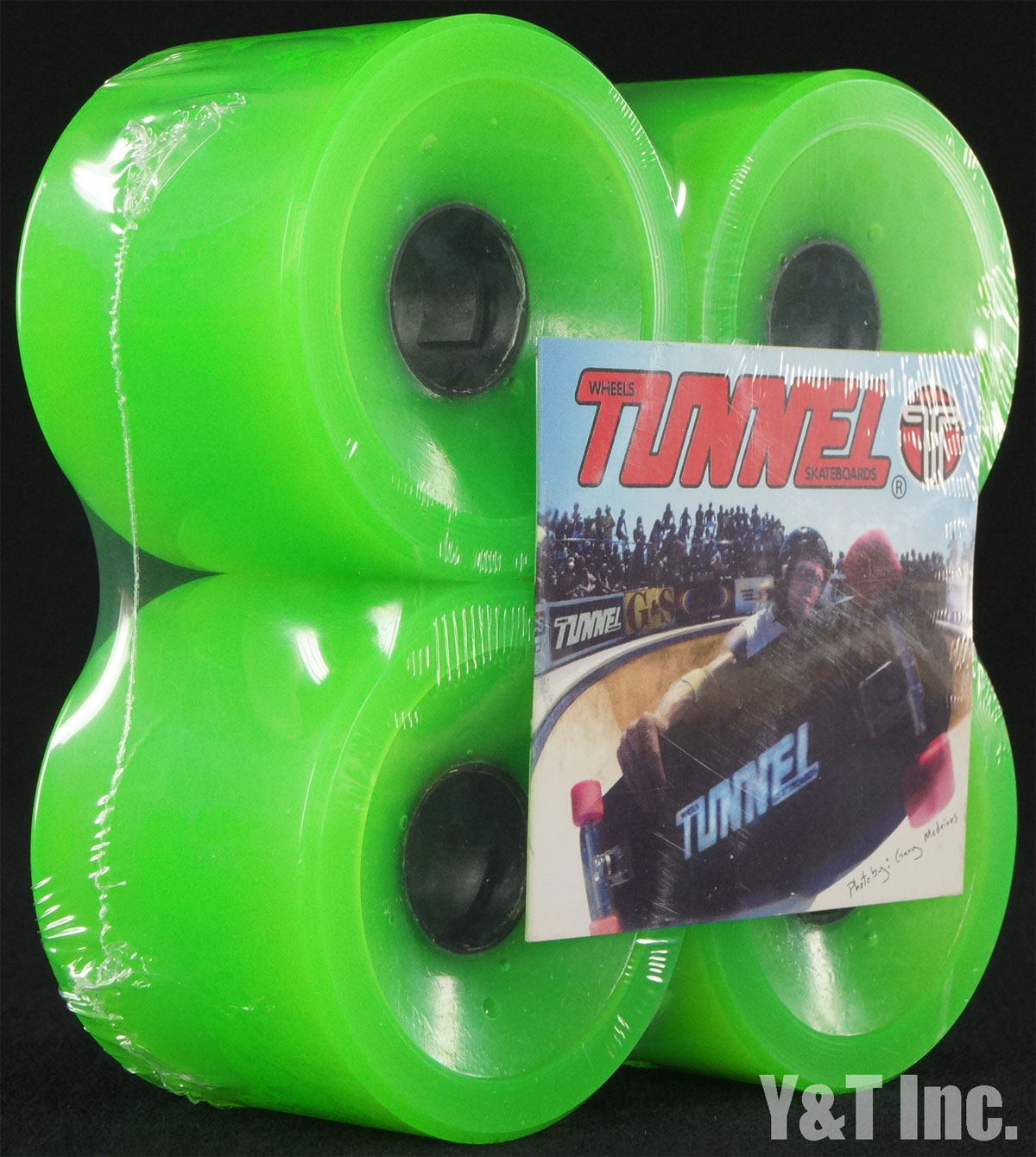 TUNNEL TARANTULA 70mm 78a CLEAR GREEN 1