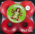 TUNNEL TARANTULA 70mm 78a CLEAR RED