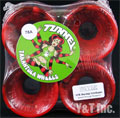 TUNNEL TARANTULA 70mm 78a STR RED BLACK