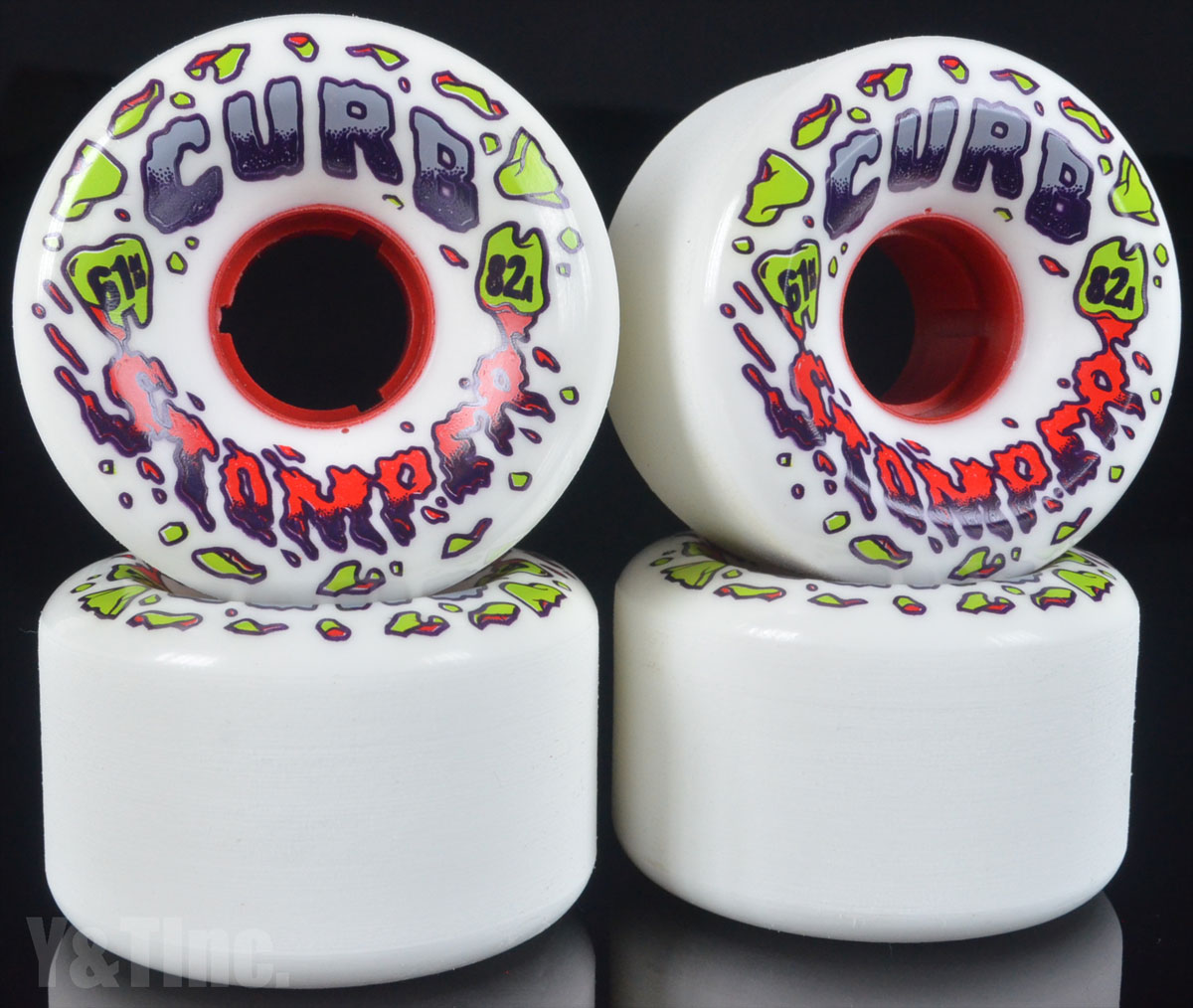 VENOM CURB STOMPERS 61mm 82a 1
