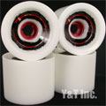 VENOM CANNIBAL 72mm 78a WHITE RED CORE