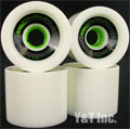 VENOM CANNIBAL 72mm 80a WHITE GREEN CORE