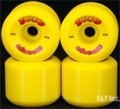 G AND S YOYO 64mm 97a YELLOW
