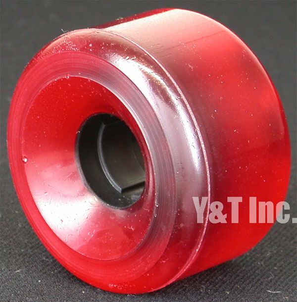 Z-FLEX JAY ADAMS 62mm 78a CLEAR RED 1
