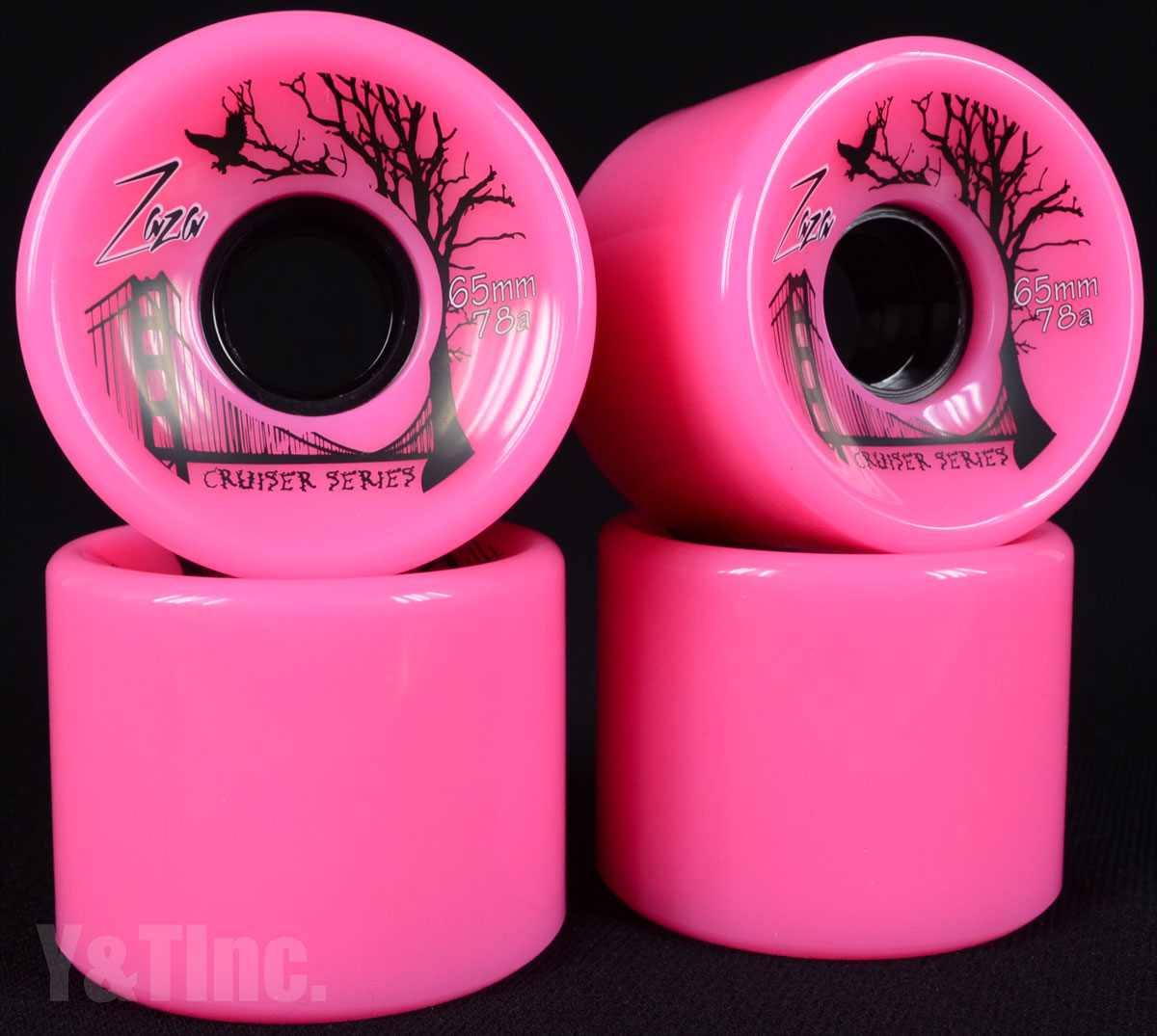 ZAZA CRUISER 65mm 78a PINK 1